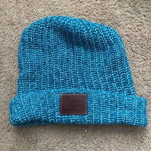 "Teal Blue ""Love your Melon"" Beanie Hat"